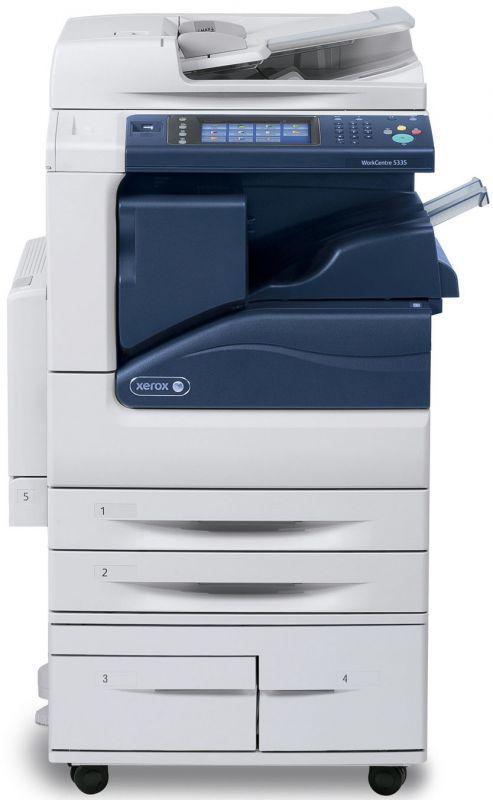 МФУ (copy) Xerox WC 5325CS ч/б лаз. A3 25cpm DADF OCT 2trays desk (o)